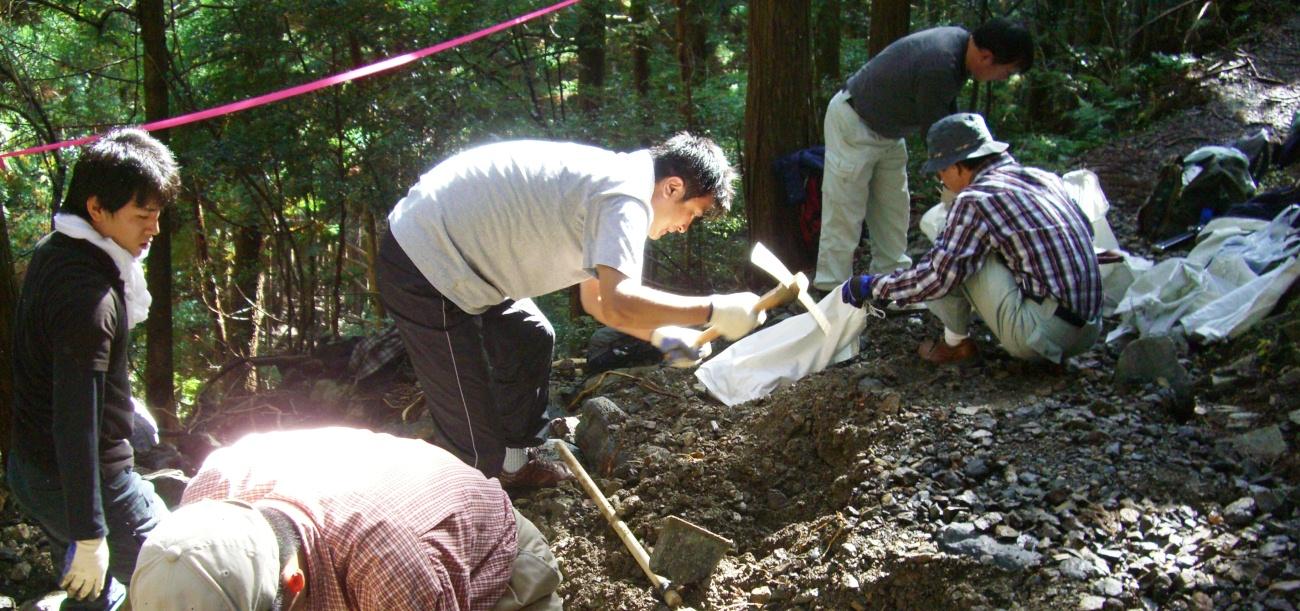 熊野古道の修繕作業は今後ずっと続きます