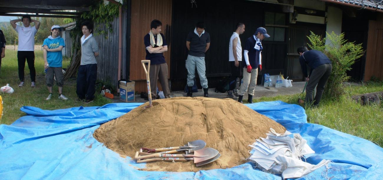 紀の国の熊野古道をなおす