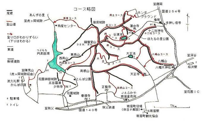 鉢形城(寄居町)の出先機関